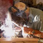 senior citizen welder